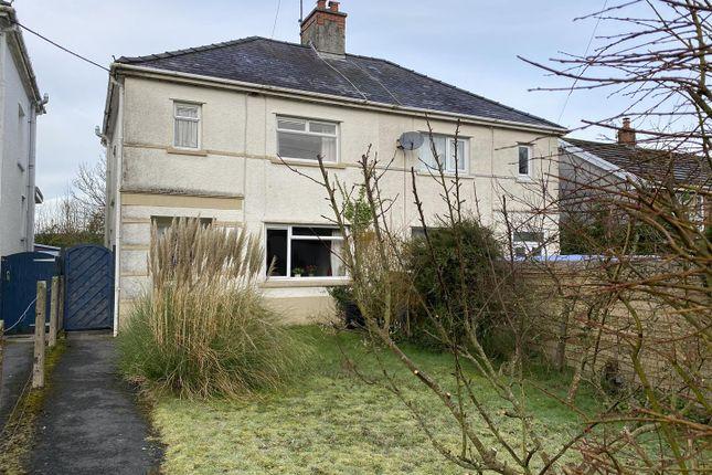 Thumbnail Semi-detached house for sale in Llandeilo
