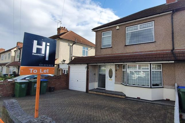 3 bed semi-detached house to rent in St. Michaels Rise, Okehampton Crescent, Welling DA16