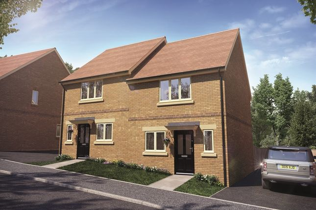 Thumbnail Semi-detached house for sale in Bewick Green, Wing, Leighton Buzzard