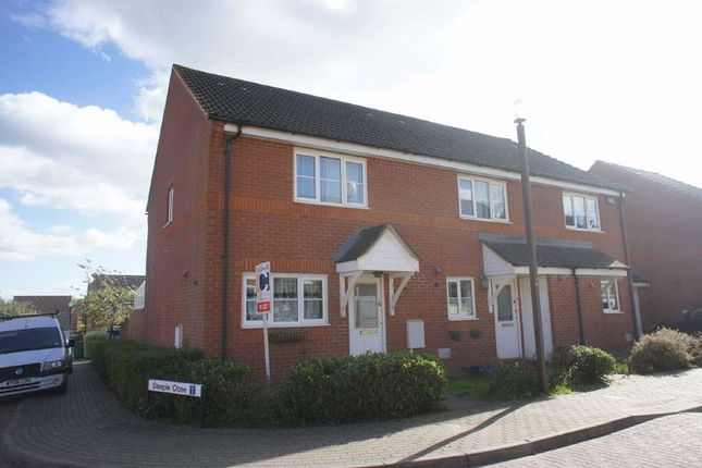 Thumbnail End terrace house to rent in Mavoncliffe Drive, Tattenhoe, Milton Keynes