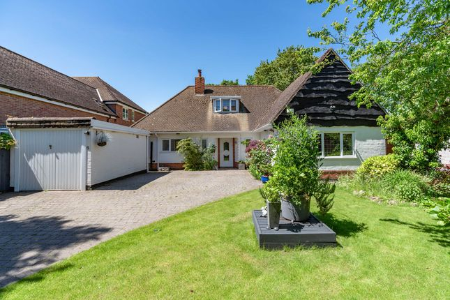 Thumbnail Detached bungalow for sale in Glenfield Frith Drive, Leicester