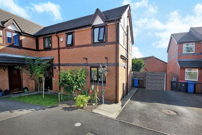 Thumbnail Semi-detached house for sale in Wood Cottage Close, Walkden, Manchester