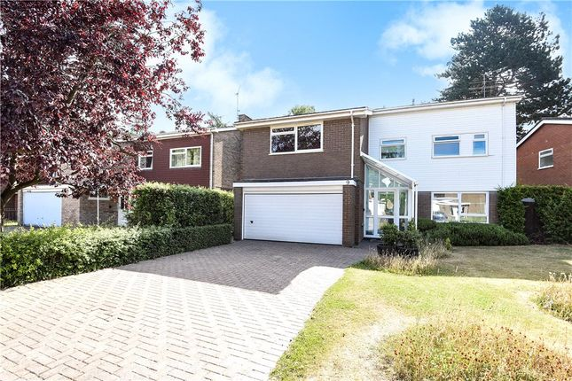Thumbnail Detached house for sale in Ridge Hall Close, Caversham Heights, Reading