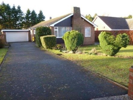 Thumbnail Bungalow for sale in Linden Way, Darras Hall, Newcastle Upon Tyne, Northumberland