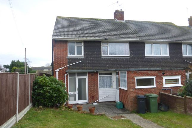 3 bed end terrace house for sale in Haslam Crescent, Bexhill-On-Sea