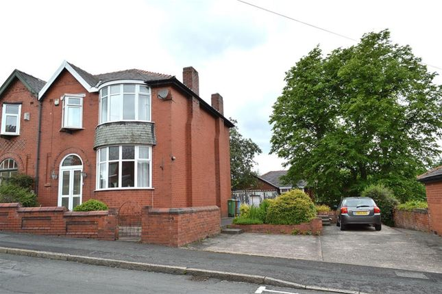 Thumbnail Semi-detached house for sale in Selkirk Avenue, Coppice, Oldham
