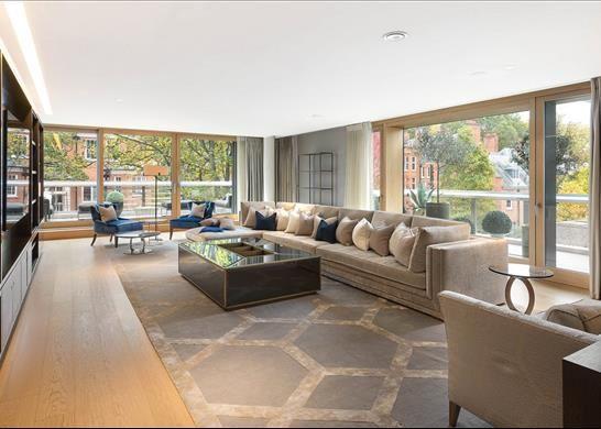 Thumbnail Flat for sale in Vicarage Gate House, Kensington, London