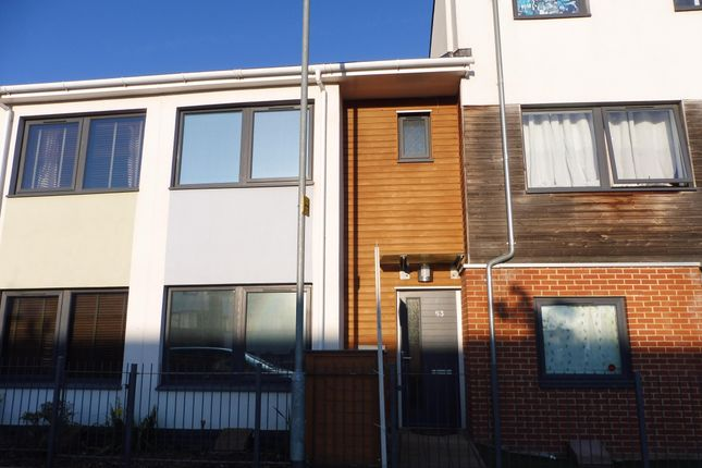 Thumbnail Terraced house to rent in Cowper Crescent, Colchester