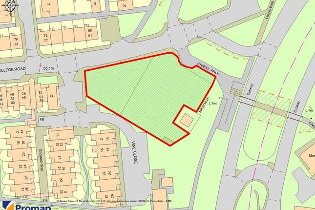 Thumbnail Land for sale in Former Masbrough Chapel Site, College Road, Rotherham, South Yorkshire