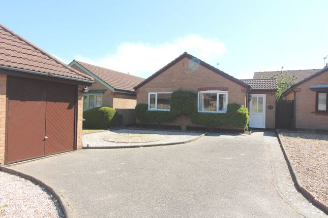 Thumbnail Detached bungalow for sale in Meadow Court, Links Road, Gorleston