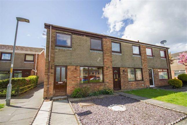 Thumbnail Semi-detached house for sale in Crosswaite Terrace, Tweedmouth, Berwick Upon Tweed
