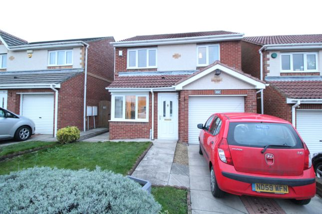 Thumbnail Detached house for sale in Redewood Close, Denton Burn, Newcastle Upon Tyne