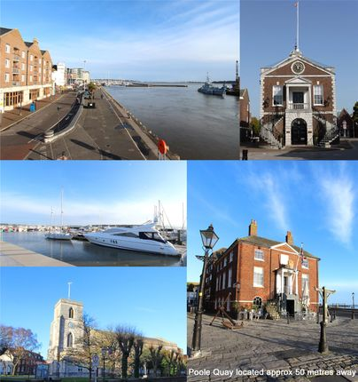Flat for sale in Barbers Wharf, Poole Quay, Poole, Dorset