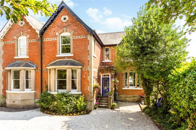 Thumbnail Semi-detached house for sale in North Parade, Horsham, West Sussex