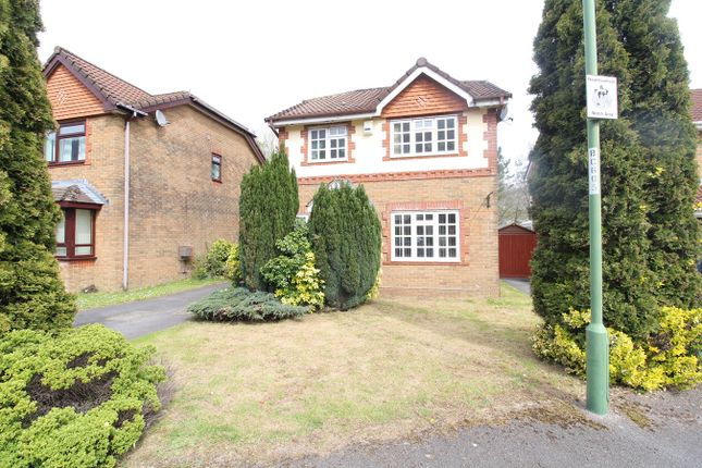 Thumbnail 3 bed detached house for sale in Brecon Heights, Victoria, Ebbw Vale