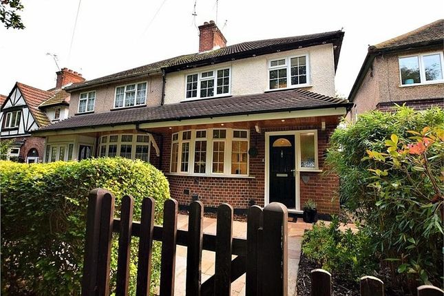 Thumbnail Semi-detached house for sale in North Western Avenue, Watford, Hertfordshire