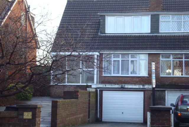 Thumbnail Semi-detached house to rent in Queens Road, Southport
