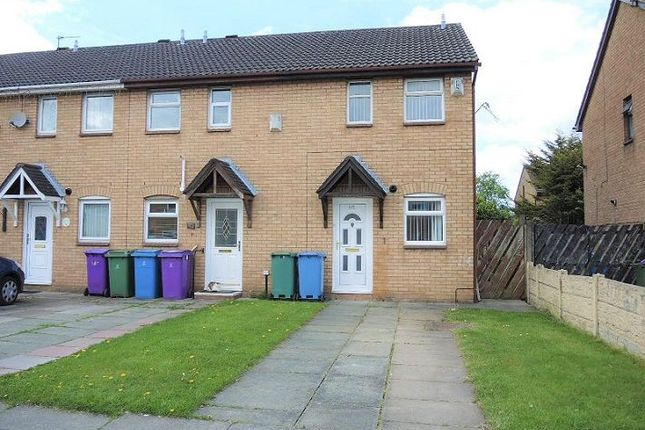 Thumbnail End terrace house to rent in Hebden Road, Croxteth, Liverpool