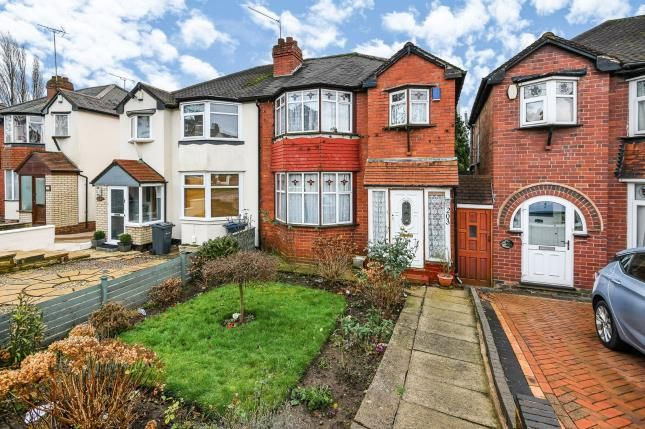 Thumbnail Semi-detached house for sale in Kingsbury Road, Erdington, Birmingham, West Midlands