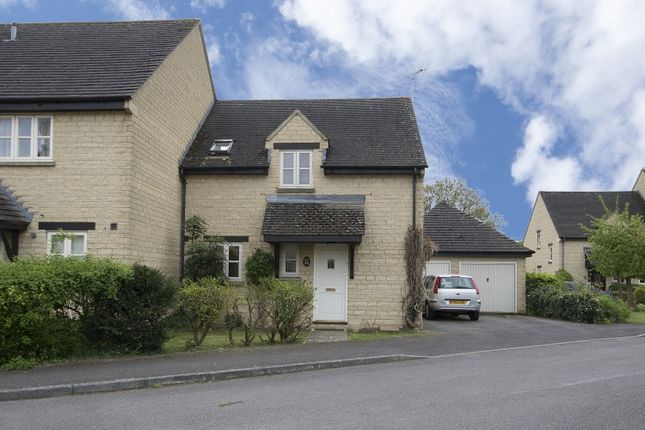 Thumbnail End terrace house to rent in Bartholomew Close, Ducklington, Witney