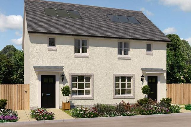 "Thumbnail Semi-detached house for sale in ""Wemyss"" at Bracara Road, Inverness"