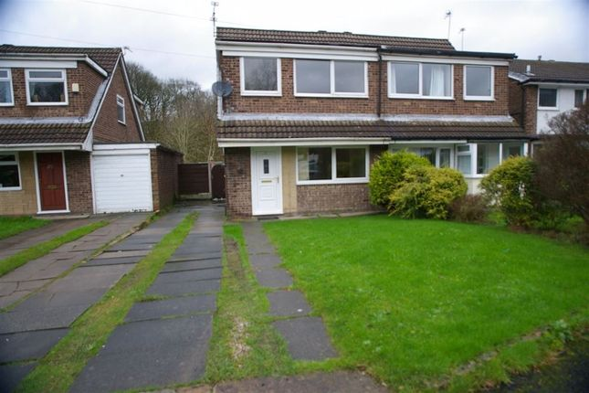 Thumbnail Property to rent in Wilmcote Close, Lostock, Bolton