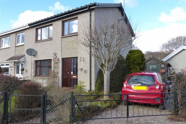 Thumbnail Terraced house for sale in Ballinlochan Terrace, Pitlochry, Perthshire