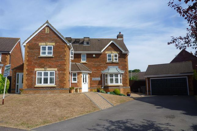 Thumbnail Detached house for sale in Birch Gardens, Hilperton, Trowbridge
