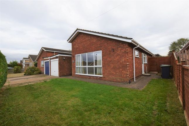 Thumbnail Detached bungalow to rent in Beech Road, Branston, Lincoln