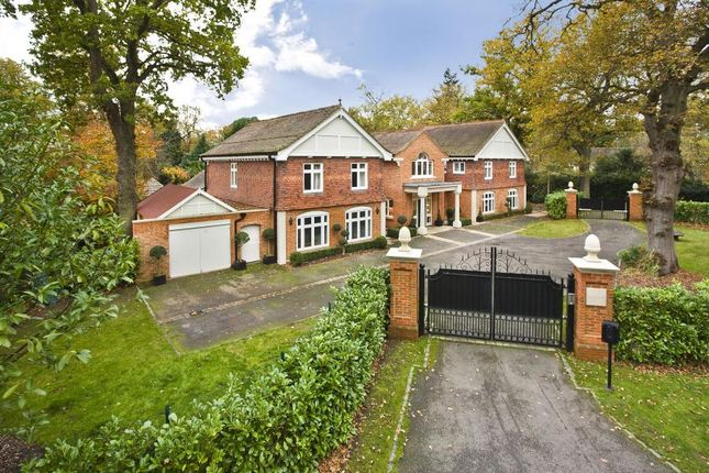 Thumbnail Detached house to rent in Wentworth Estate, Virginia Water, Surrey