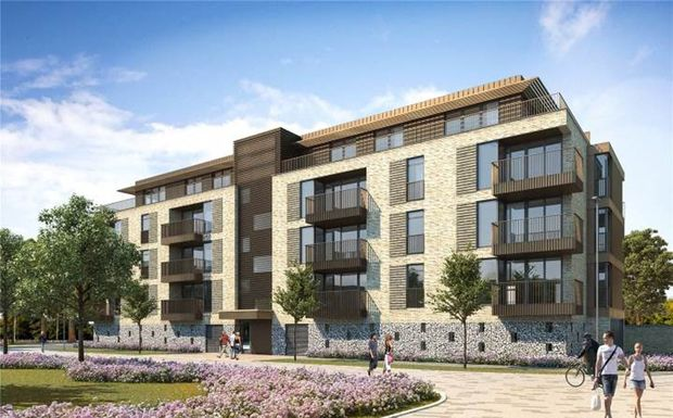 2 bed flat for sale in Lilywhite Drive, Cambridge