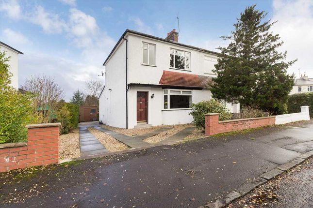 Thumbnail Semi-detached house for sale in Orchard Grove, Giffnock, Giffnock