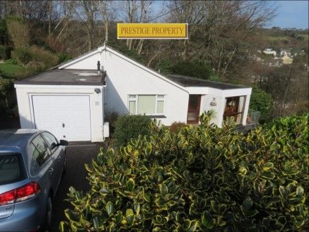 Thumbnail Detached bungalow for sale in Trevarrick Road, St. Austell