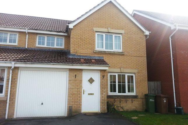 Thumbnail Property to rent in Pwll Yr Allt, Tir-Y-Berth, Hengoed