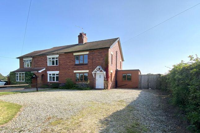 Thumbnail Semi-detached house for sale in Nantwich Road, Wrenbury, Nantwich