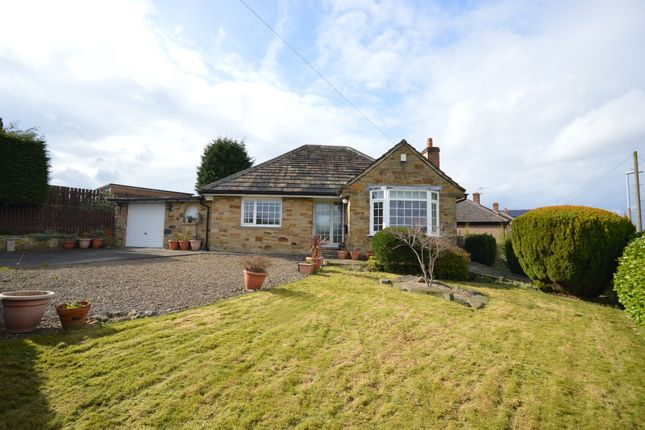 Thumbnail Detached bungalow for sale in Brownroyd Road, Honley, Holmfirth, West Yorkshire