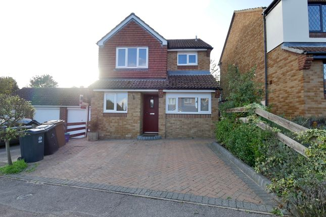 Thumbnail Detached house for sale in Cherry Tree Rise, Walkern, Stevenage