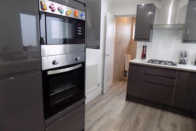 Kitchen of Clarence Street, Ton Pentre, Pentre, Rhondda Cynon Taff. CF41