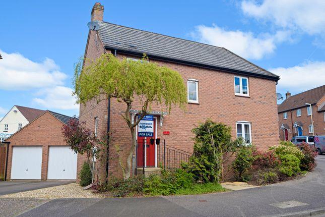 Thumbnail End terrace house for sale in Kestrel Close, Tiverton