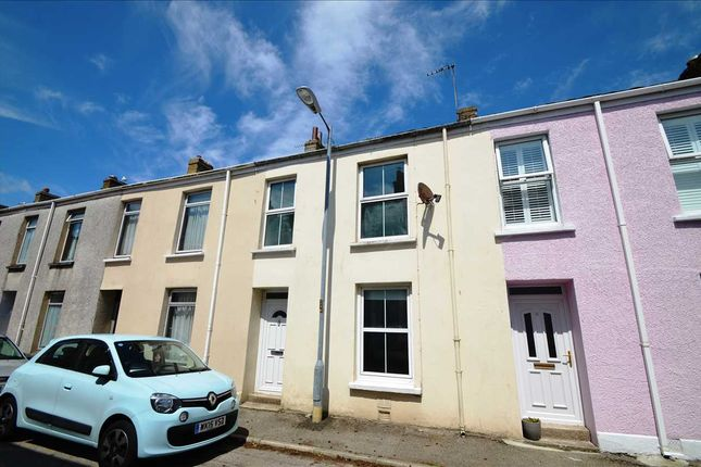 Terraced house for sale in Raleigh Place, Falmouth