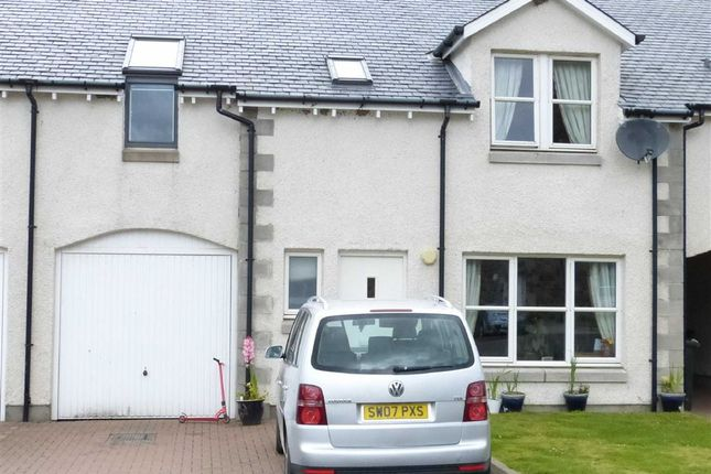 Thumbnail Terraced house for sale in Newton Steadings, Glencarse, Perthshire