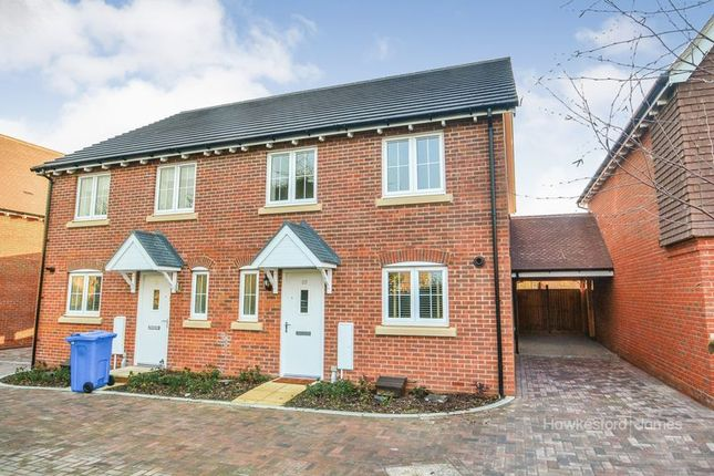 Thumbnail Semi-detached house to rent in Leigh Road, Sittingbourne