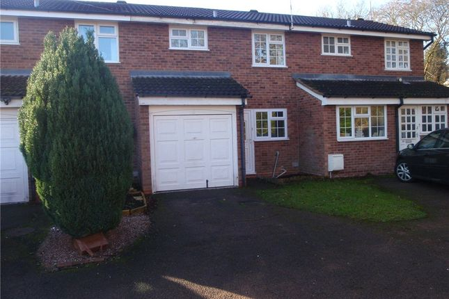 Thumbnail Terraced house to rent in Perryfields Close, Redditch
