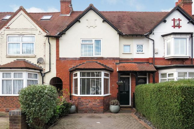 Thumbnail Terraced house for sale in Willow Avenue, Edgbaston, Birmingham