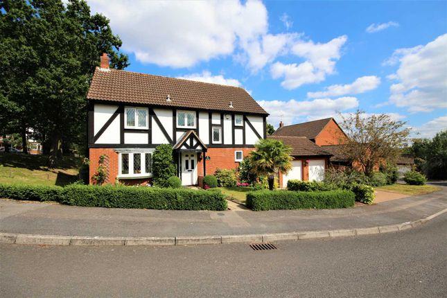 Thumbnail Detached house for sale in Fletcher Gardens, Binfield, Bracknell