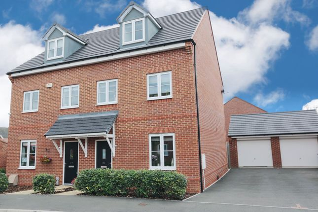 Semi-detached house for sale in Jacksons Meadow, Bidford-On-Avon, Alcester