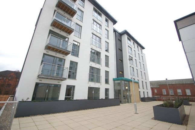 1 bed flat to rent in Cathedral View, Full Street, Derby
