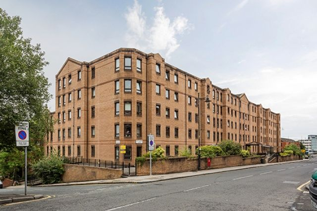 Thumbnail Flat for sale in West Graham Street, Glasgow