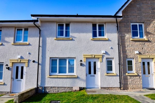 Thumbnail Terraced house to rent in Skene View, Westhill, Aberdeenshire