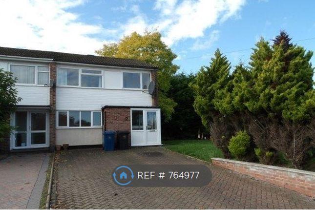 Thumbnail Semi-detached house to rent in Kingswood Road, West Bridgford, Nottingham